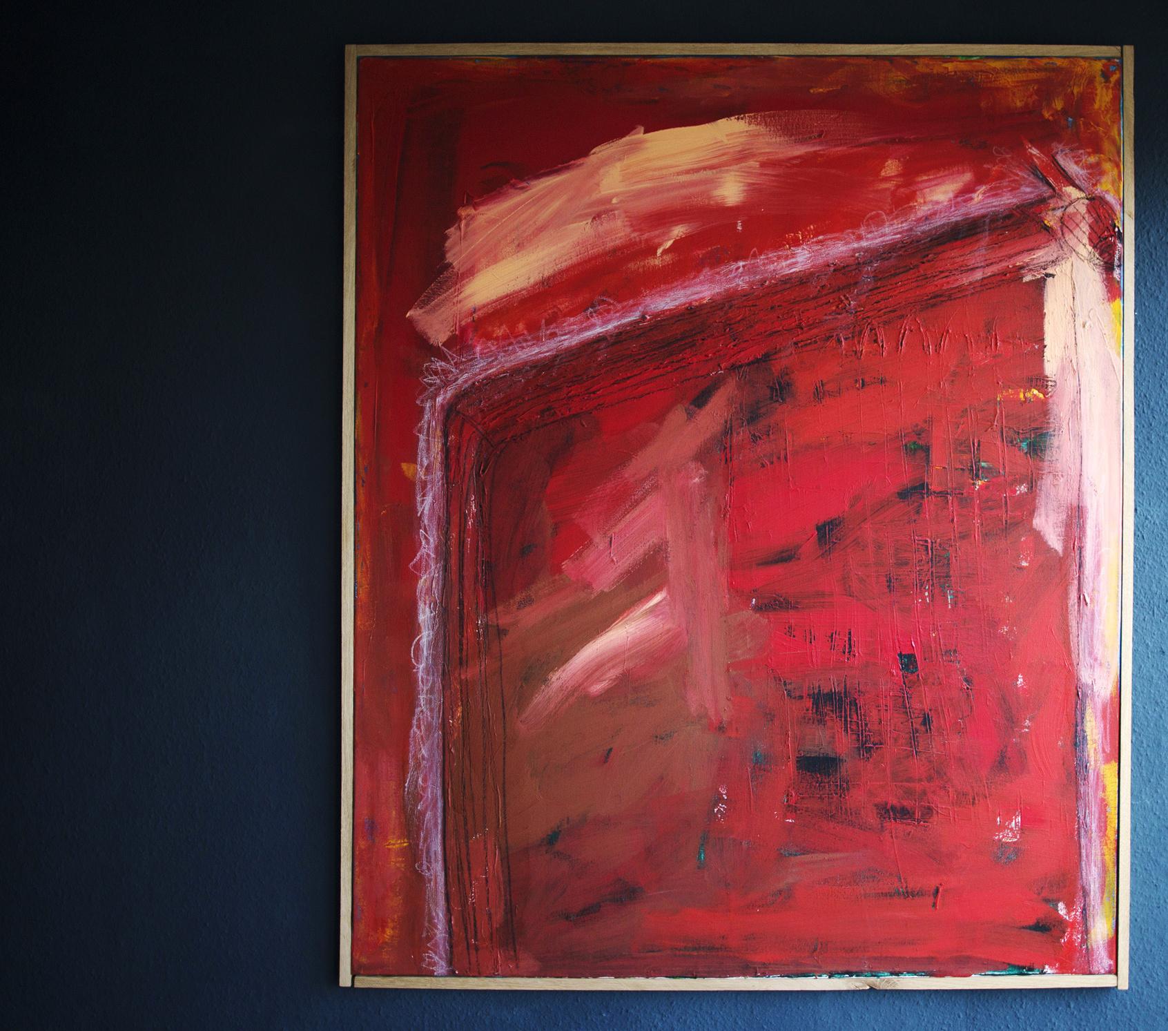 Heizung, Acryl auf Leinwand, 100 x 120 cm •